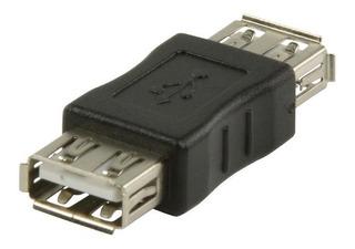 Adaptador Usb 2.0 Hembra Hembra Para Unir Acople De Cables