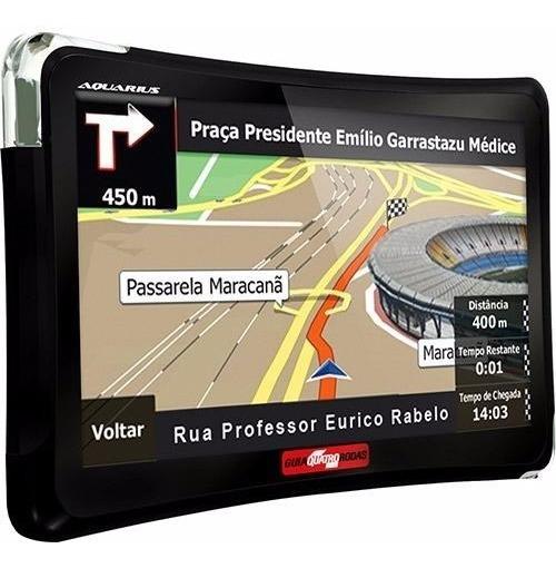 Gps Automotivo Aquarius Quatro Rodas 5 Poleg. Tv Digital Nf