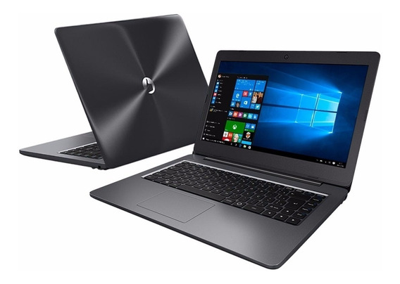 Notebook Positivo Intel Dualcore 4gb 500gb Hdmi Win10 Wifi