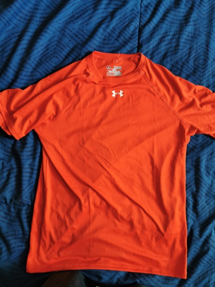 Playera Under Armour Hombre Naranja
