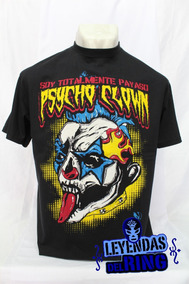 Camiseta Lucha Libre Psycho Clown