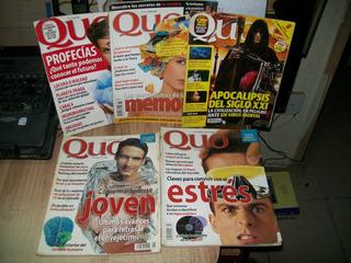 Pack De 5 Revistas De Quo Varios Numeros Y Años