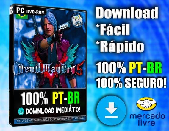 Devil May Cry 5 Pc Completo 100% Pt-br Midia Digital!