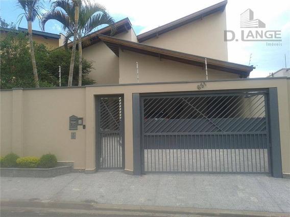 Casa Com 3 Dormitórios Sendo 2 Suítes! A Venda, 459 M² Área Construída Por R$ 1.150.000,00 - Jardim Paraíso - Campinas/sp - Ca7955
