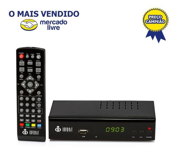 Conversor Tv Digital Full Hd Infokit Itv 500 - Super Oferta