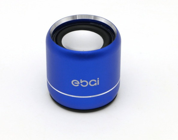 Mini Speaker Caixa Som Bluetooth Ebai Fzf19yx2 1w Azul