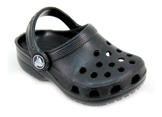 Crocs Classic Kids Negro