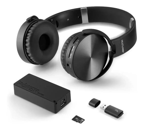 Headphone Multilaser Bluetooth Carregador Sd/aux/fm Mc250