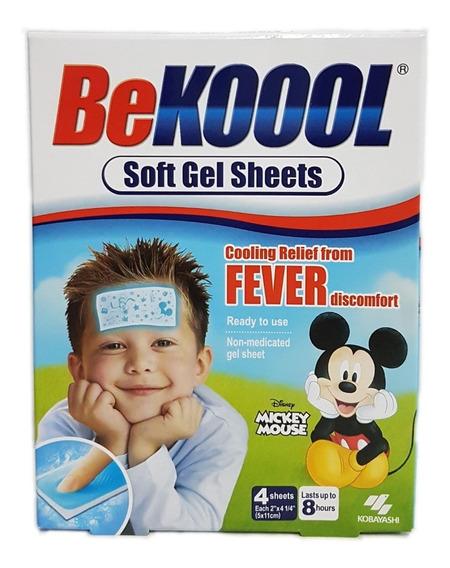 Be Kool Koool Soft Gel Sheets For Kids - Adesivo Para Febre