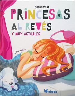 Libro Princesas Al Revés Cuentos Infantiles Niñas 3 - 10 Año