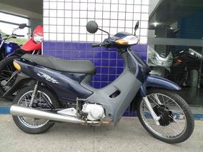 Honda Biz C100 2003 Azul Revisada E Com Garantia...