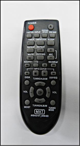 Controle Remoto Som Samsung Ah59-02147t - Ah59-023