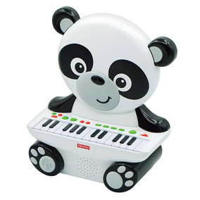 Fisher Price Teclado Panda Com 25 Teclas 82966 - Fun