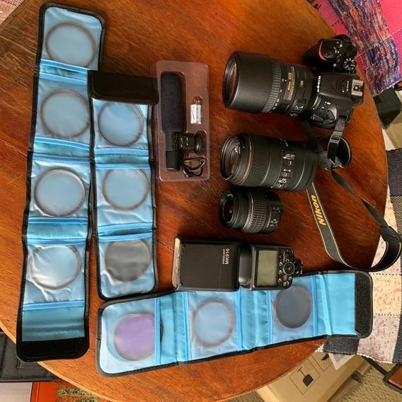 Câmera Nikon D5500 Pacotão