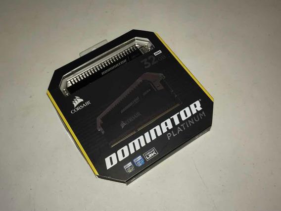 Kit Corsair Dominator Platinum Ddr4 3000mhz 2x16gb 32gb Cl15