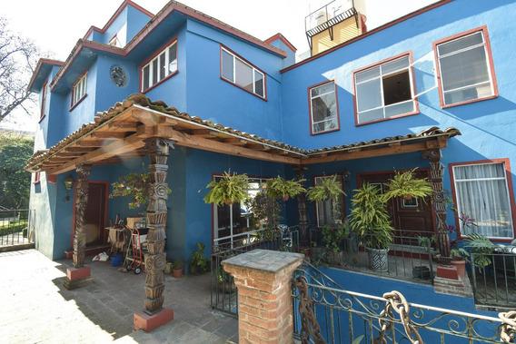 Señorial Casa En Corazon De San Angel