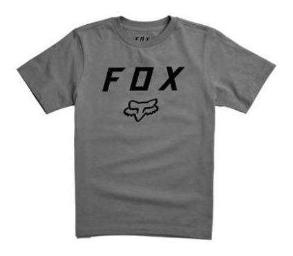 Remera Niño Manga Corta Con Logo Fox Juri
