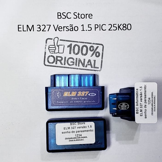 Scanner Diagnostico Automotivo Elm327 Obd2 1.5bluetoothvgate