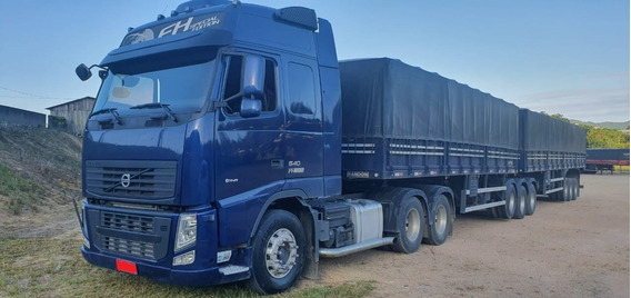 Volvo Fh-540 Globetrotter 6x4 Special Edition Azul - 2015