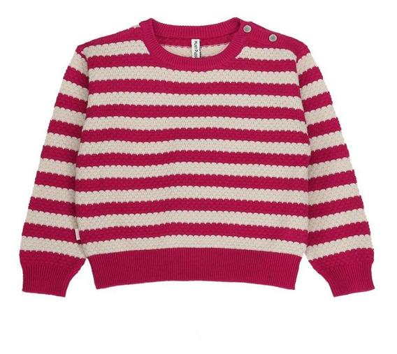 Sweaters Niña Hush Puppies Kids Gw20-swt/olivia Cerise Cl