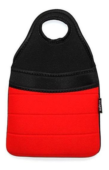 Bolsa Basura Auto Bag Negra Con Diseño Moderno 20cm X 18 Cm