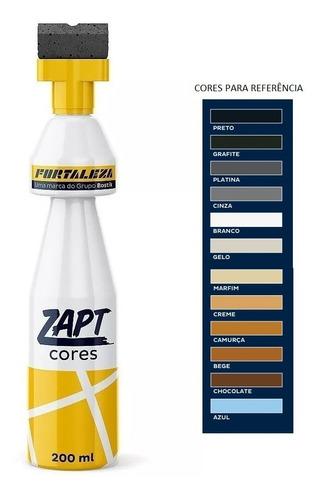 Kit Com 4 Zapt Tinta Para Rejunte 200ml