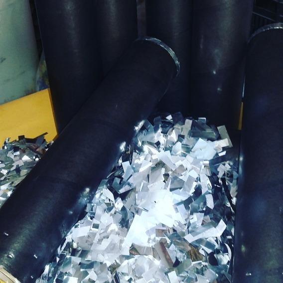 Kit Com 40 Papel Picado Prata, 40 M.mine E 40 Vaso