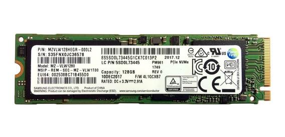 Ssd Samsung Pm961 Mz-vlw1280 128gb - Com Nota Fiscal