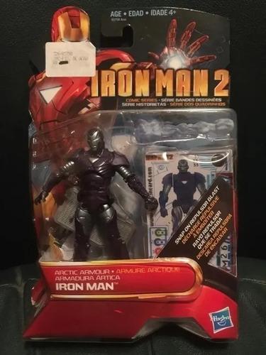 Armadura Ártica - Iron Man 2  Hasbro