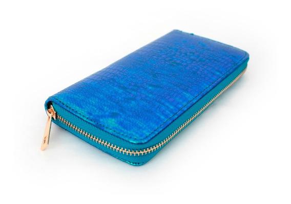 Billetera Meta Azul Accesorios Morph