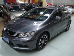 Honda Civic Lxr 2.0 Flex 2015 Automático (completo + Couro)