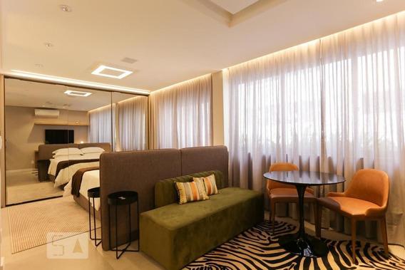 Studio No 12º Andar Com 1 Dormitório E 1 Garagem - Id: 892971434 - 271434