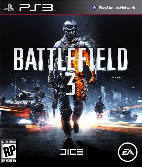 Battlefield 3 Bf3 Ps3 Midia Digital Psn Envio Rápido