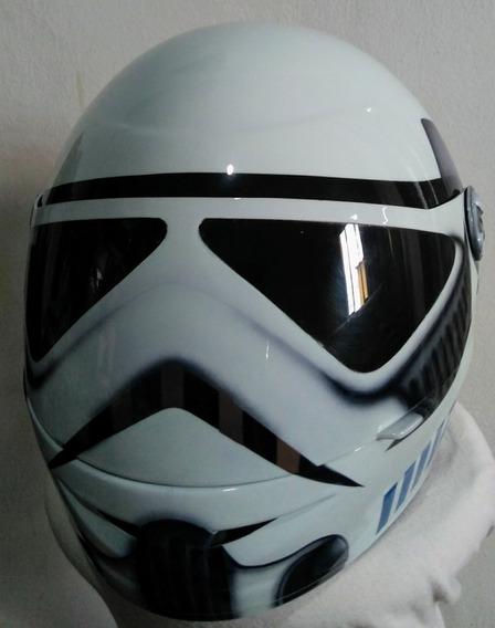 Capacete Personalizado Pro Tork Stroomper Star Wars Barato