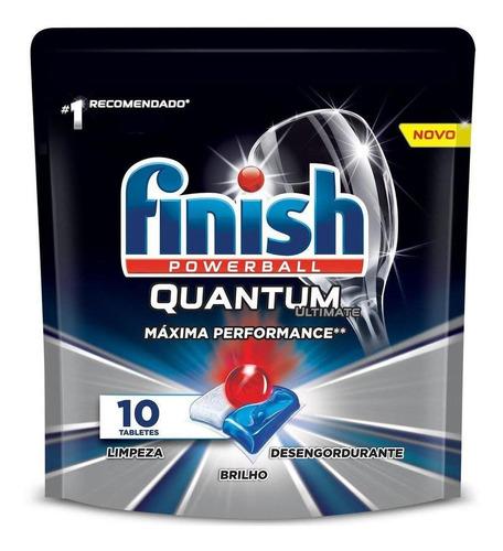 Detergente Lava Louça Tabletes Finish Quantum Ultimat Full