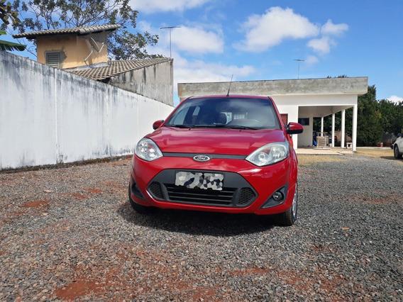 Ford Fiesta Rocan 1.0 Se 5 Portas 2014 Vermelho Integro