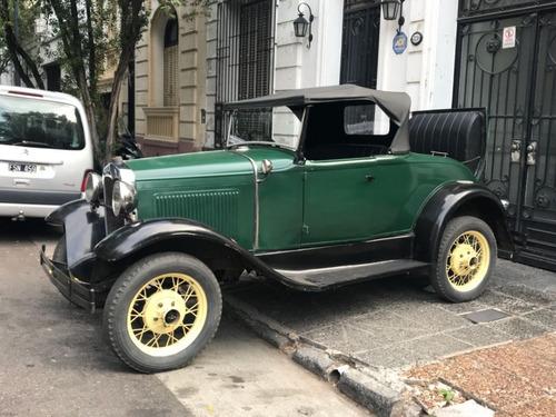Ford A Roadster 1931 Con Papeles! Excelente Estado, Rodando!