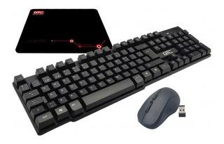 Combo Teclado Mous & Pad Mouse Gtc Cbg-012