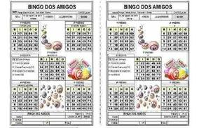 Planilha Geradora De Cartelas De Bingo, Até 2.500 Cartelas