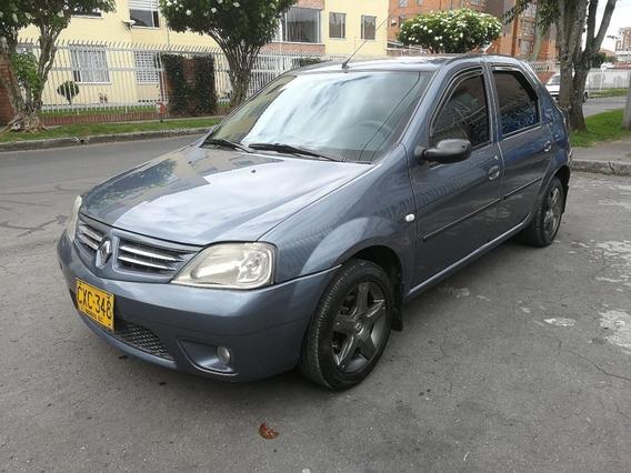 Renault Logan Expression Mt1400cc Azul Gris Aa Ab