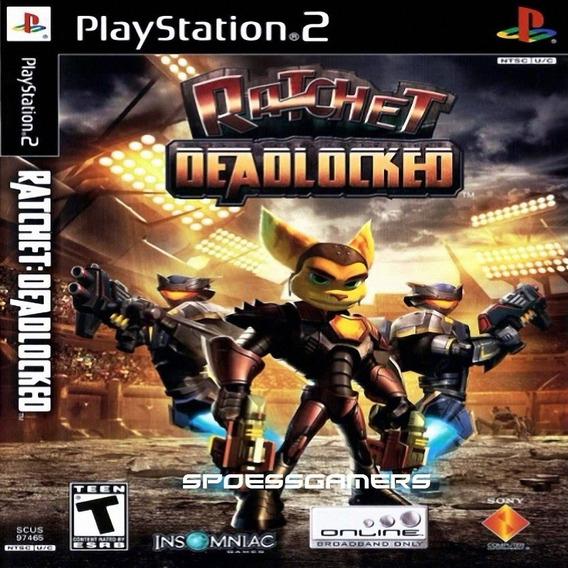 Ratchet & Clank 4 Deadlocked Ps2 Desbloqueado Patch