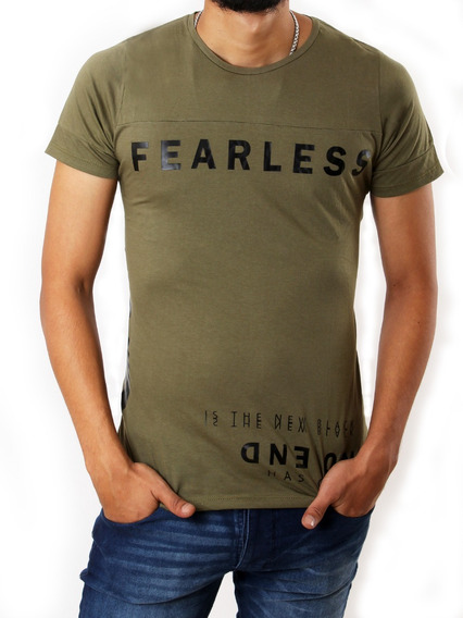 Remera Fearless Hombre No End 28244