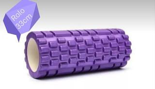 Rolo , Rodillo Sensitivo, Pilates, Yoga,rehabilitacion 33 Cm