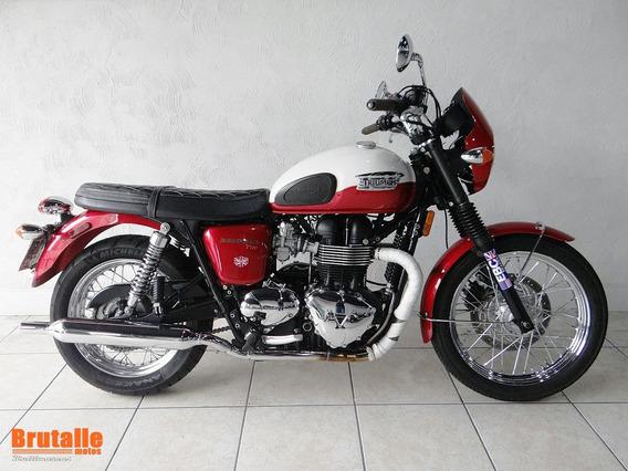 Triumph Bonneville T 100 Vermelha