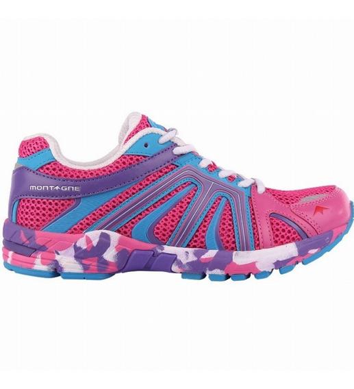 Zapatillas Montagne Pikes Mujer Running Super Oferta !!