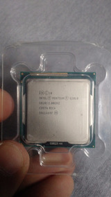 Processador Intel Pentium G2010 Lga1155 Dual-core + Cooler