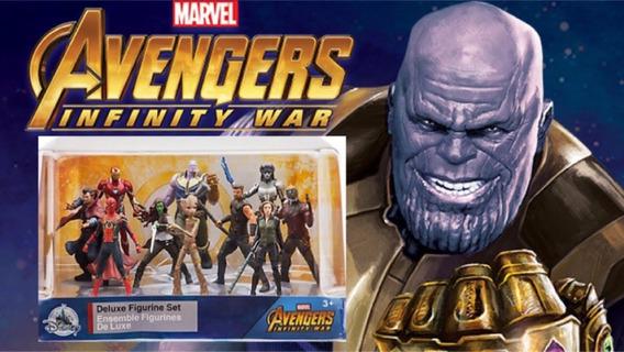 Figuras De Ação - Vingadores Guerra Infinita - Playset - Or.