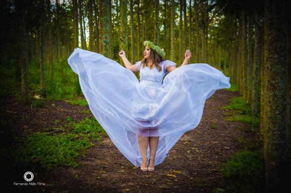 Vestido Branco - Tamanho M