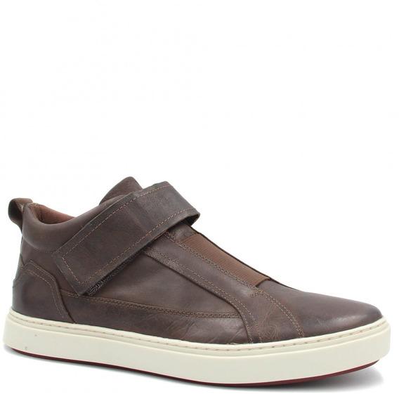 Sapatênis Zariff Shoes Em Couro Zm61