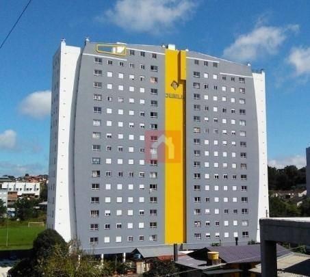 Apartamento Semi-mobiliado, A 600m Do Shopping Iguatemi - 2 Dormitórios - À Venda Por R$ 169.000- Caxias Do Sul/rs - Ap0657